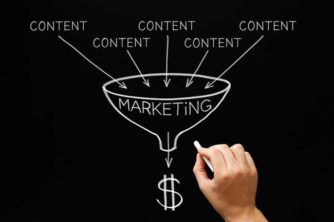 Tipos de Marketing Digital - Content Marketing