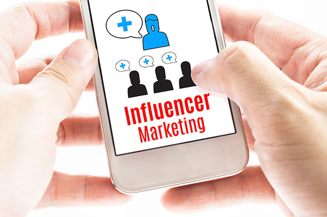 Influencer Marketing - Tipos de Marketing Digital