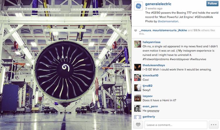 Estrategia de contenidos de General Electric